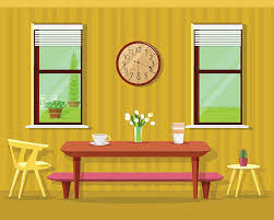 17 Dining Room Clipart Table Clip Art Vector Images U0026 Illustrations Istock