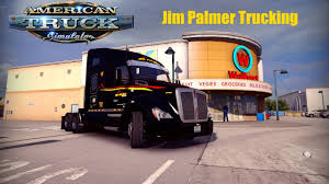 100 Palmer Trucking American Truck Simulator Jim Run YouTube