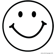 Emoji Printable Coloring Pages Black And White Also Smile Emoticon Faces P