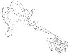 Kingdom Hearts Coloring Page Eliolera