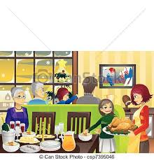 Unique Family Room Design Dinner Clipart Dining Hall Free Library