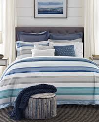 Macys Com Bedding by Tommy Hilfiger Westbourne Stripe Reversible Bedding Collection
