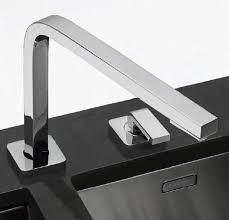 robinetterie cuisine franke mitigeur sous fenêtre quantum two à bec escamotable et manette de