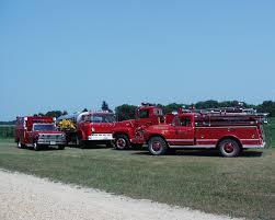 100 Blue Fire Trucks McCausland Department Scott County Iowa
