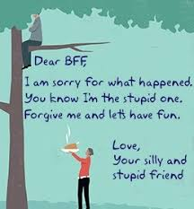 What is the best way for apologizing to friends Quora
