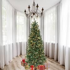 Astella 7 Pre Lit Douglas Fir Christmas Tree Clear Lights