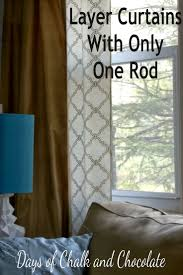 Kohls Double Curtain Rods by Best 25 Layered Curtains Ideas On Pinterest Window Curtains