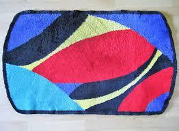 kleine wolke design bad garnitur 2 teilig badteppich
