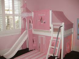 Little Girls Princess Bedroom Transforms to Big Girl Twin Over