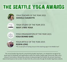 It Is A Tremendous Honor That My Article On Sharing Yoga With Syrians Won Of The Year In Seattle News Endless Gratitude To Everyone Who