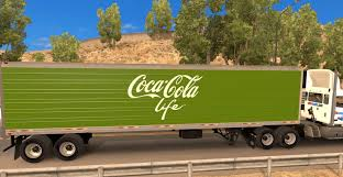Coca Cola Life Reefer Trailer For ATS - American Truck Simulator Mod ... Cacola Other Companies Move To Hybrid Trucks Environmental 4k Coca Cola Delivery Truck Highway Stock Video Footage Videoblocks The Holidays Are Coming As The Truck Hits Road Israels Attacks On Gaza Leading Boycotts Quartz Truck Trailer Transport Express Freight Logistic Diesel Mack Life Reefer Trailer For Ats American Simulator Mod Ertl 1997 Intertional 4900 I Painted Th Flickr In Mexico Trucks Pinterest How Make A With Dc Motor Awesome Amazing Diy Arrives At Trafford Centre Manchester Evening News Christmas Stop Smithfield Square