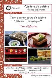 carte cadeau cours de cuisine bon cadeau shi