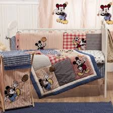 zspmed of mickey mouse crib bedding set best on home decor ideas