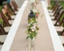 Burlap Table Runner Modern Rustic Natural Wedding Runners