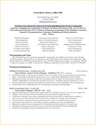 100 Agile Resume Sample For Project Manager It Software India Project