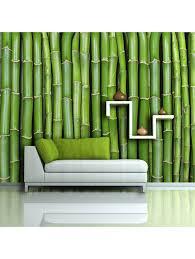 artgeist fototapete imitation einer bambuswand klingel