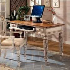 Hillsdale Wilshire puter Writing Desk in Antique White 4508D