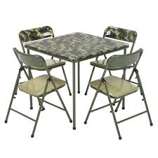 Cosco Kids 5-Piece Camo Vinyl Set With Green Frame 37457CAM1E - The ... Vintage Mid Century Chrome And Vinyl Play Table Chair Set 5 Piece Card Products Table Set Mcintosh Ding 6 Chairs Black Multipurpose 42 Round Xt Base With 4 Manor Antimicrobial Stack Cherry Finish And Teal Drop Leaf Four Teak Danish Design Flash Fniture 36 Square Walnut Laminate Ladder Back Metal Seat Trademark Gameroom Coca Cola Upholstery Pub Bar Stools Backs Cool Retro Dinettes 1950s Style Cadian Made Sets Details About 5piece Folding Indoor Room Game Friends Upholstered Cosco Natural Grid