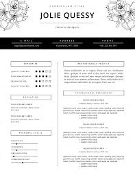 Apparel Design Resume Examples New Feminine Template Jolie