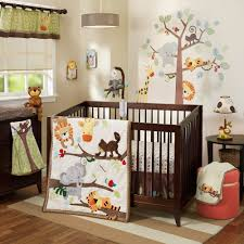 ivy treetop buddies 4 pc crib bedding set