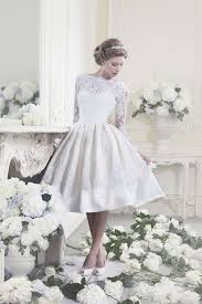 Modern Vintage Style Clothing Summer Short Lace Wedding