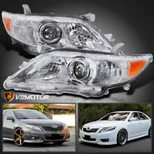 for 2010 2011 toyota camry projector headlights left right
