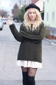 Newlook Tights HM Dresses HM Hats Vintage Sweaters