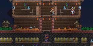Pumpkin Moon Terraria Farm by Guide Defending Against Events Official Terraria Wiki