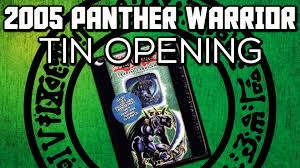 Xyz Dragon Cannon Deck 2005 by Yu Gi Oh 2005 Panther Warrior Tin Opening Unboxing Review Will I