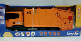 Bruder Scania R-Series Garbage Truck - Orange 3560 Bruder Mack Granite Halfpipe Dump Truck Abs Synthetics Toy Vehicle Bruder 02765 Cstruction Man Tga Tip Up Truck Toys Mack 116 Play Snow Plow Dump With Front Buy Online At The Nile Tgs Young Minds 03550 Scania Rseries Newfactory Sealed Mb Arocs Half Pipe Jadrem 3761 Garbage Toy Trucks For Kids Loader And Mercedesbenz Bruder Toys 5999 Pclick