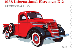 100 Work Trucks Usa USPS Honors With Stamps Operations Truck Online