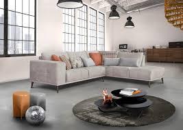 canape d angle bois acheter votre canapé d angle gris avec pieds en bois chez simeuble