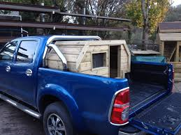 100 Truck Dog Kennels Fitted Dog Box The Wooden Workshop Oakford Devon The Wooden