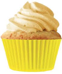 CupcakeCreations 32ct Yellow Standard Cupcake Liners