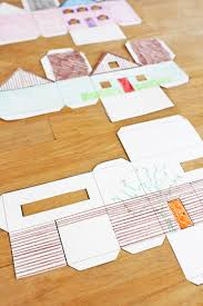 Click To Tweet Fun Paper Craft For Kids 3 Templates PAPER HOUSES You Can Print Cut