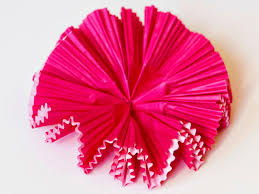 How To Make Paper Flowers Using Cupcake Liners