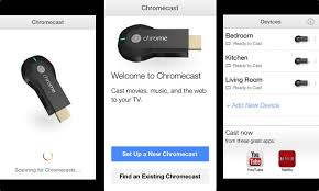 ficial Google app lets Chromecast owners set up streaming device