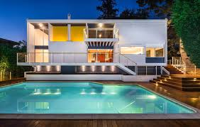 100 Modern Houses Los Angeles Skillful Renovation Of Iconic MidCentury Residence