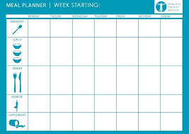Best Meal Planning Templates Ideas On Weekly Dinner Menu Template Images Of Cute Planner