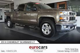 100 Trucks For Sale In Colorado Springs 2014 Chevrolet Silverado 1500 LT In CO