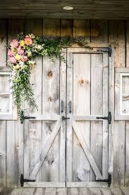 Show Us Your Wedding Day Pictures Old DoorsBarn