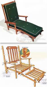 Deck Chair Plans - Outdoor Furniture Plans And Projects ...