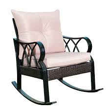 Patio Indoor/Outside Rocking Lounge, Patio Rocker Glider Chair With ... Hampton Bay Black Wood Outdoor Rocking Chairit130828b The Home Depot Garden Tasures Chair With Slat Seat At Lowescom Amazoncom Casart Indoor Wooden Porch Chairs Lowes White Patio Wicker Rocker Wido 3 Piece Set 2 X Black Rocking Chair And Table Garden Patio Pool Ebay Graphics Of Imposing Walmart Recliner Sale Highwood Usa Lehigh Recycled Plastic Inoutdoor 3pc Set With Cushion Shop Intertional Concepts