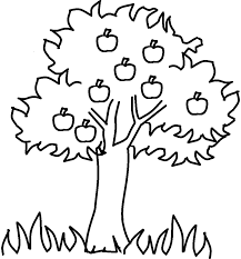 Full Size Of Coloring Pagecoloring Pages Tree Free Apple 1 Page Large Thumbnail