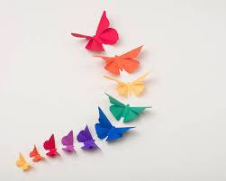 3D Wall Butterflies Butterfly Art For Nursery Girls Room Classroom Or Home