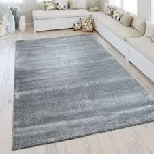 kurzflor teppich wohnzimmer meliert