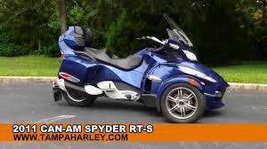 Used 2011 Can-Am Spyder RT-S - 3 Wheel Motorcycle For Sale - YouTube