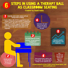 Ball Seats For Classrooms by 6 Steps In Using A Therapy Ball As Classroom Seating Seekfreaks