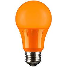 80147 su sunlite of 12 turtle safe a19 3w o led orange led