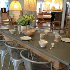 Zinc Top Dining Table And Chairs Metal Wood Work So Well Together The